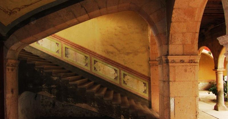 Stairs at Jaral de Berrio
